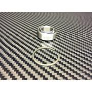 Rotule amortisseur AR + Jonc arret
