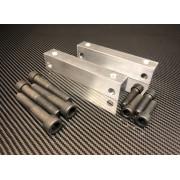 Kit adaptation BREMBO 4 pistons sur Clio 2
