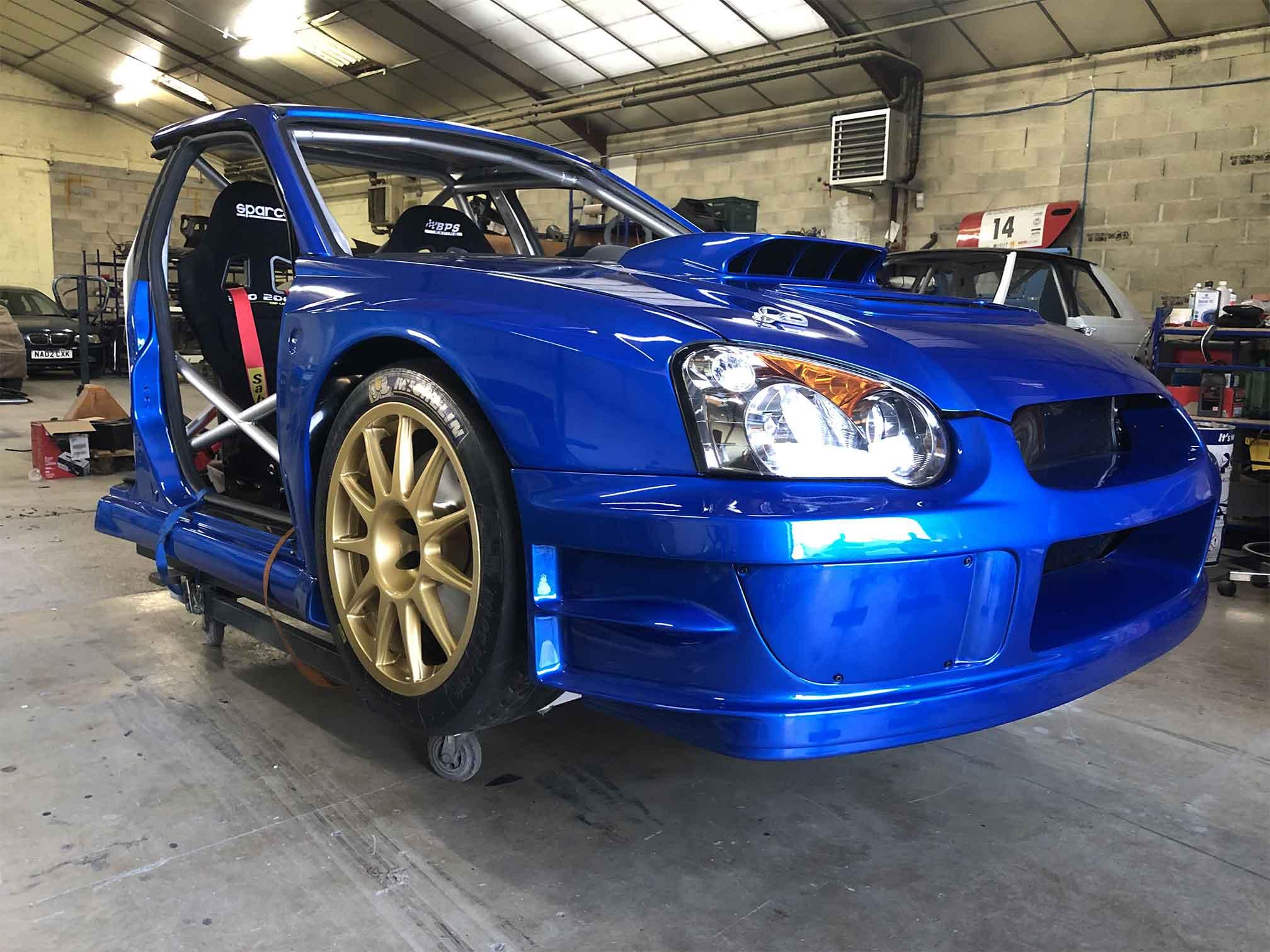Simulateur WRC Subaru